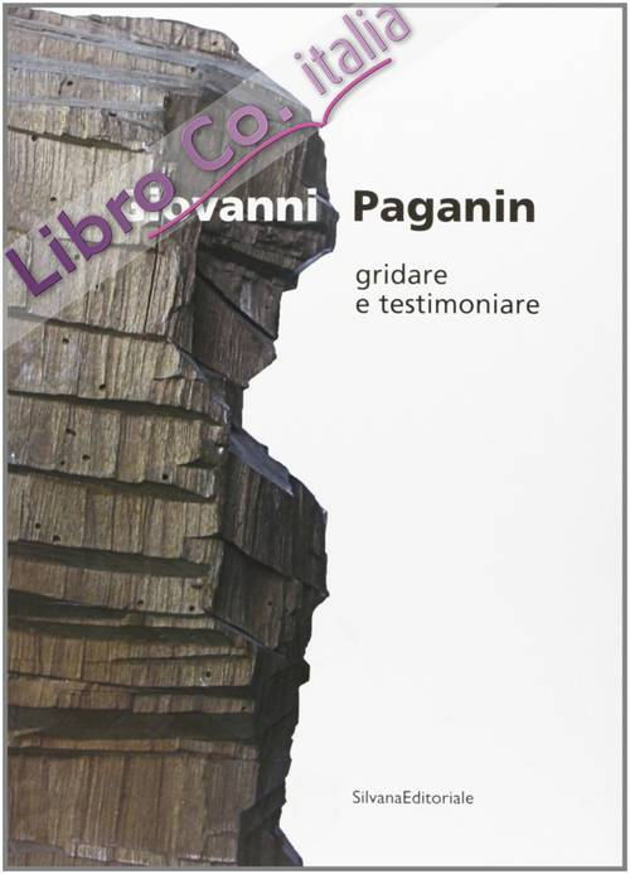 Giovanni Paganin. Gridare e testimoniare.