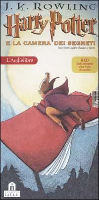Harry Potter e la camera dei segreti letto da Giorgio Scaramuzzino. Audiolibro. 8 CD Audio. Vol. 2