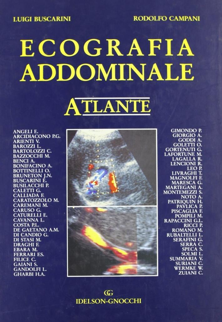 Ecografia addominale. Atlante