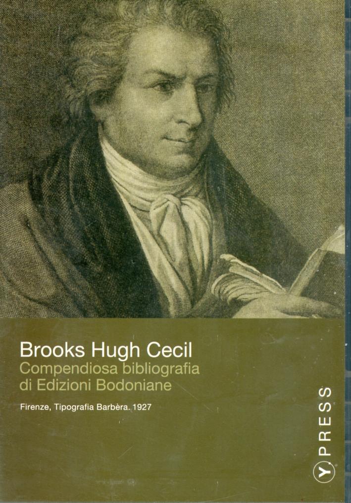 Compendiosa bibliografia di edizioni bodoniane. CD-ROM