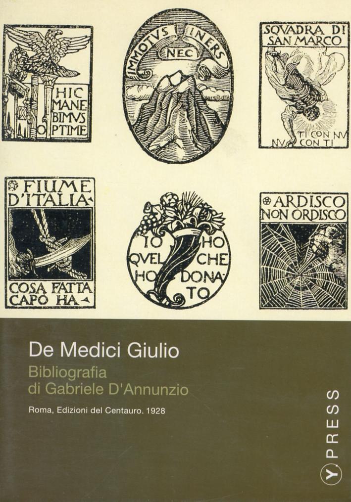 Bibliografia di Gabriele D'Annunzio. CD-ROM