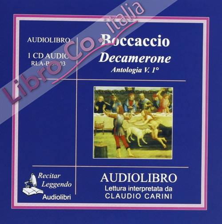 Decamerone. Antologia. Audiolibro. CD Audio. 1