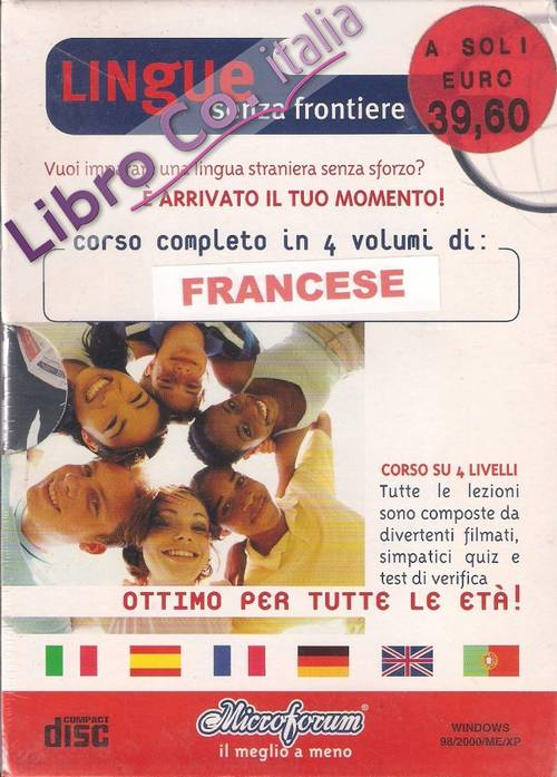 Lingue senza frontiere. Francese. 12 CD-ROM