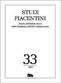 Studi Piacentini. Vol. 33