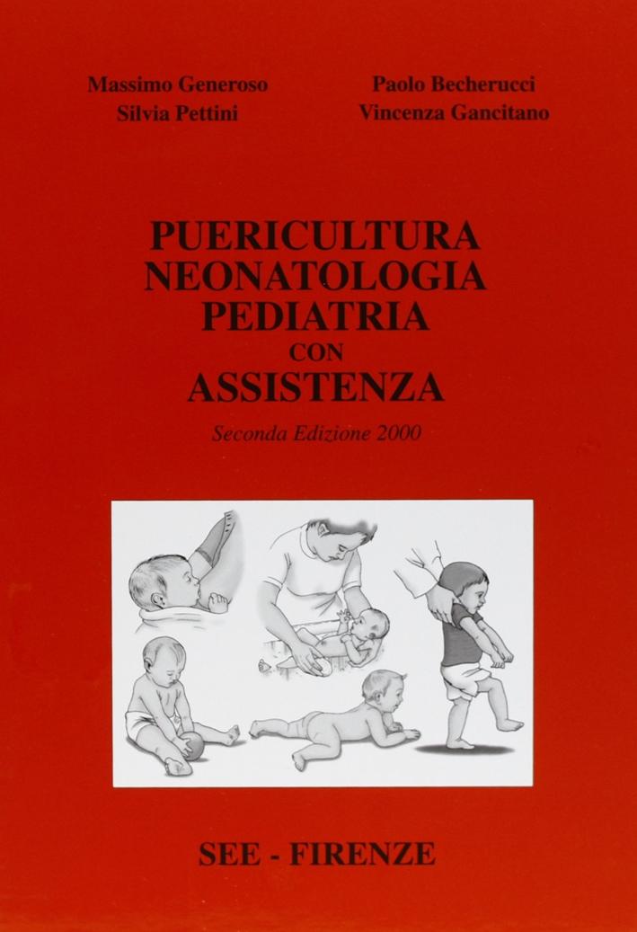 Puericultura, neonatologia, pediatria con assistenza.