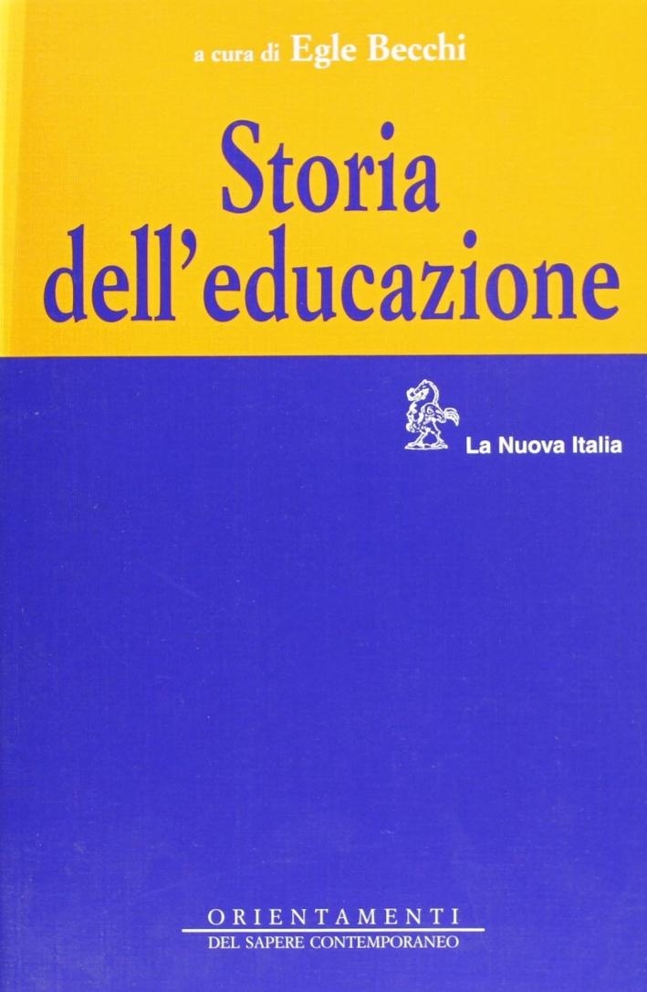 Storia dell'educazione.