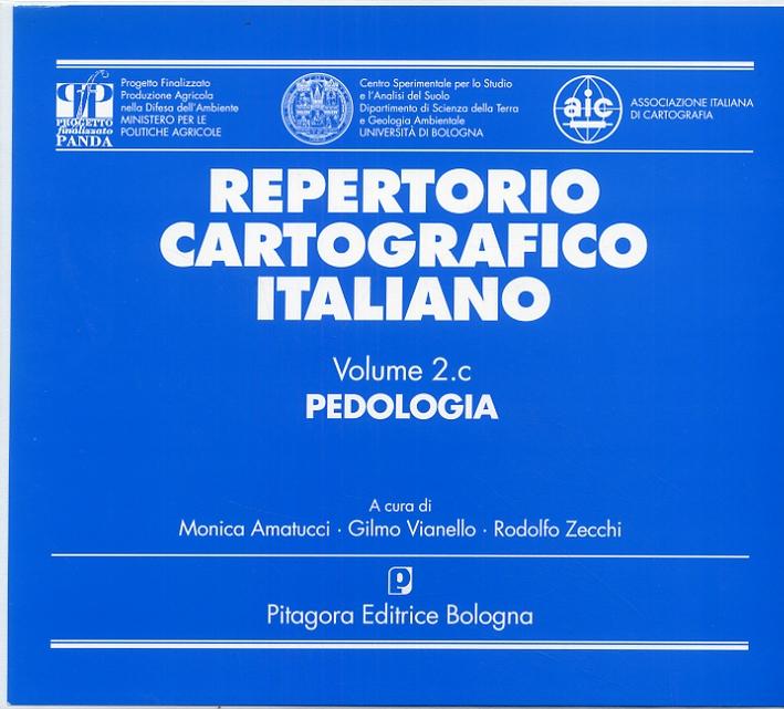Repertorio cartografico italiano. 2. Pedologia