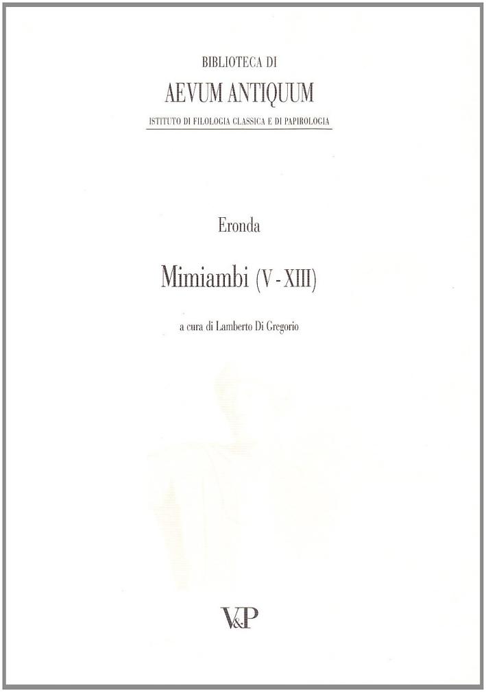 Mimiambi (5-13).