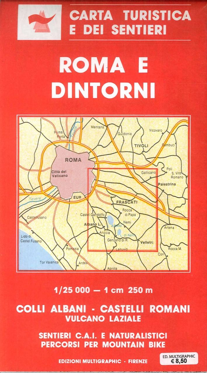 Roma e Dintorni. Scala 1:25.000. 501