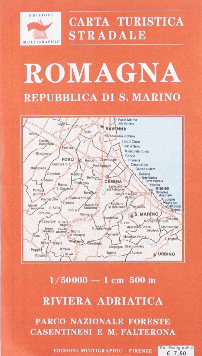 Romagna e Repubblica di San Marino. Scala 1:50000. 704