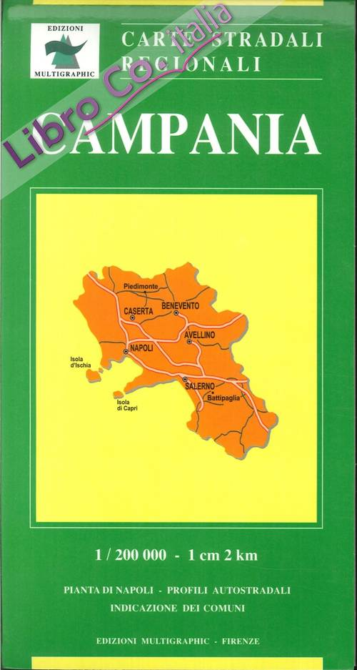 Campania. 417. 1:200.000