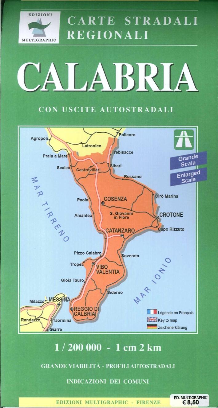 Calabria. 1:200.000. 469