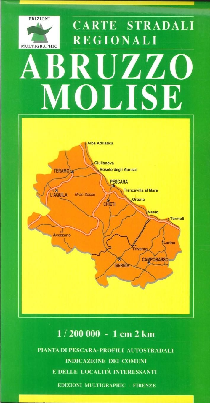 Abruzzo Molise. 415/416. 1:200.000
