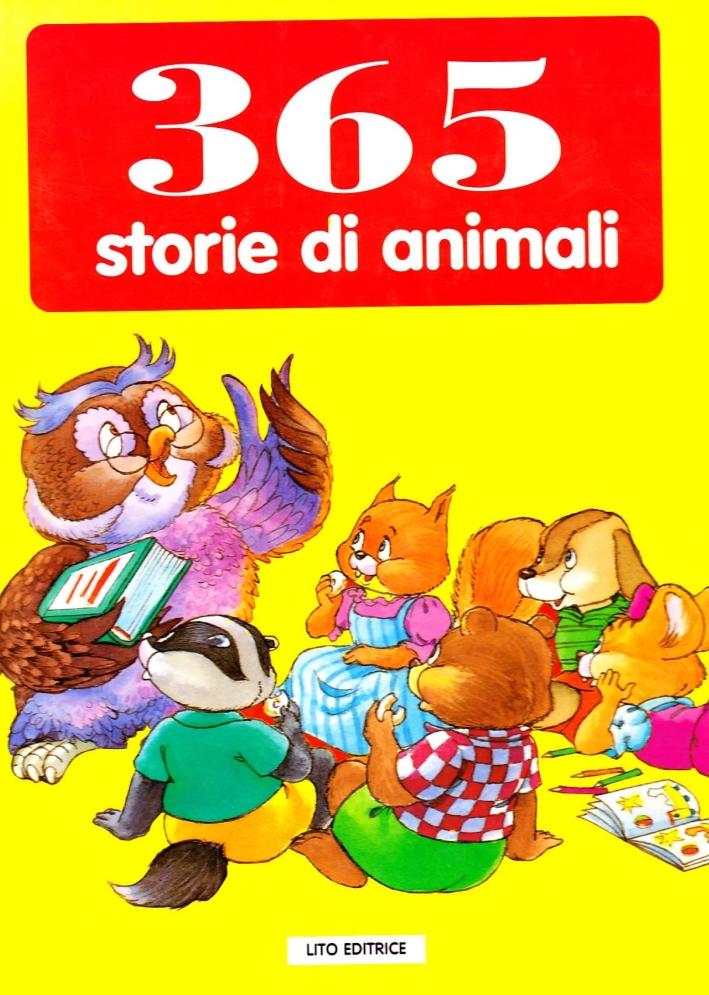 Trecentosessantacinque storie di animali.