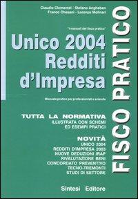 Unico 2004. Redditi d'impresa