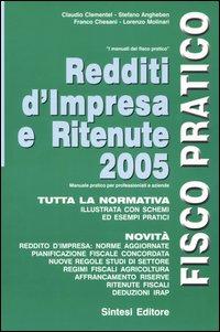 Redditi d'impresa e ritenute 2005