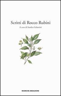Scritti di Rocco Rubini