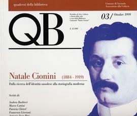 QB. Vol. 3: Natale Cionini. 1884-1919