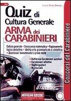 Concorsi Arma dei carabinieri. Quiz di cultura generale