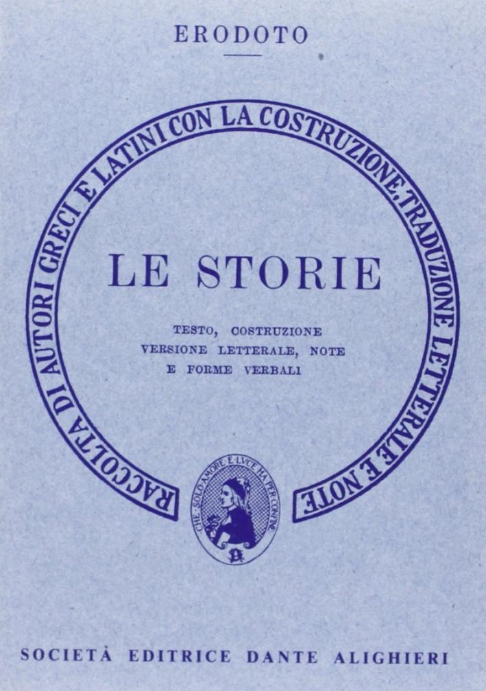 Le storie. Versione interlineare