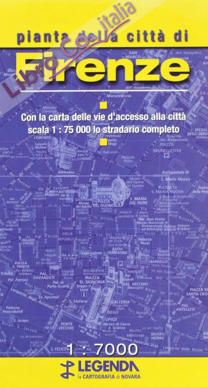 Pianta di Firenze