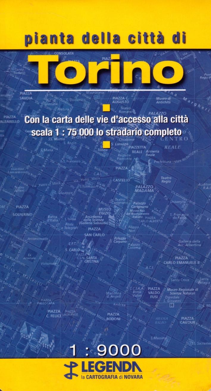 Pianta di Torino