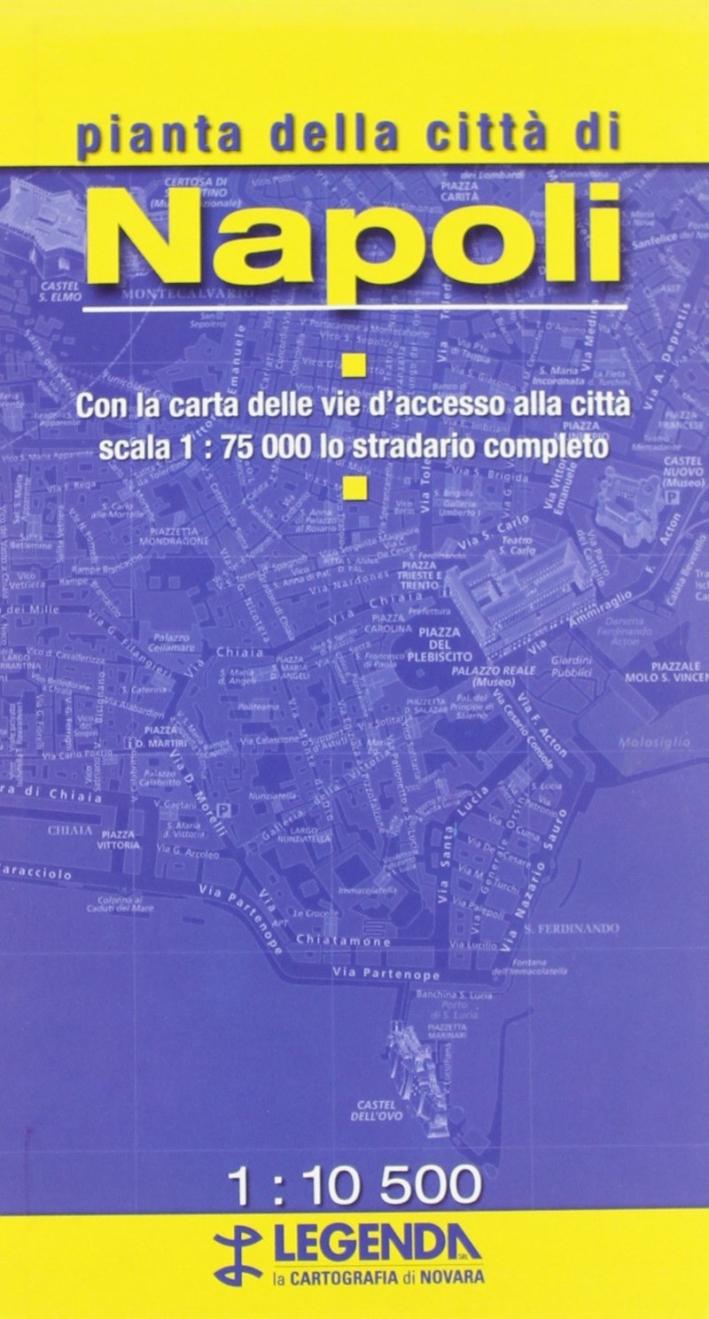Pianta di Napoli