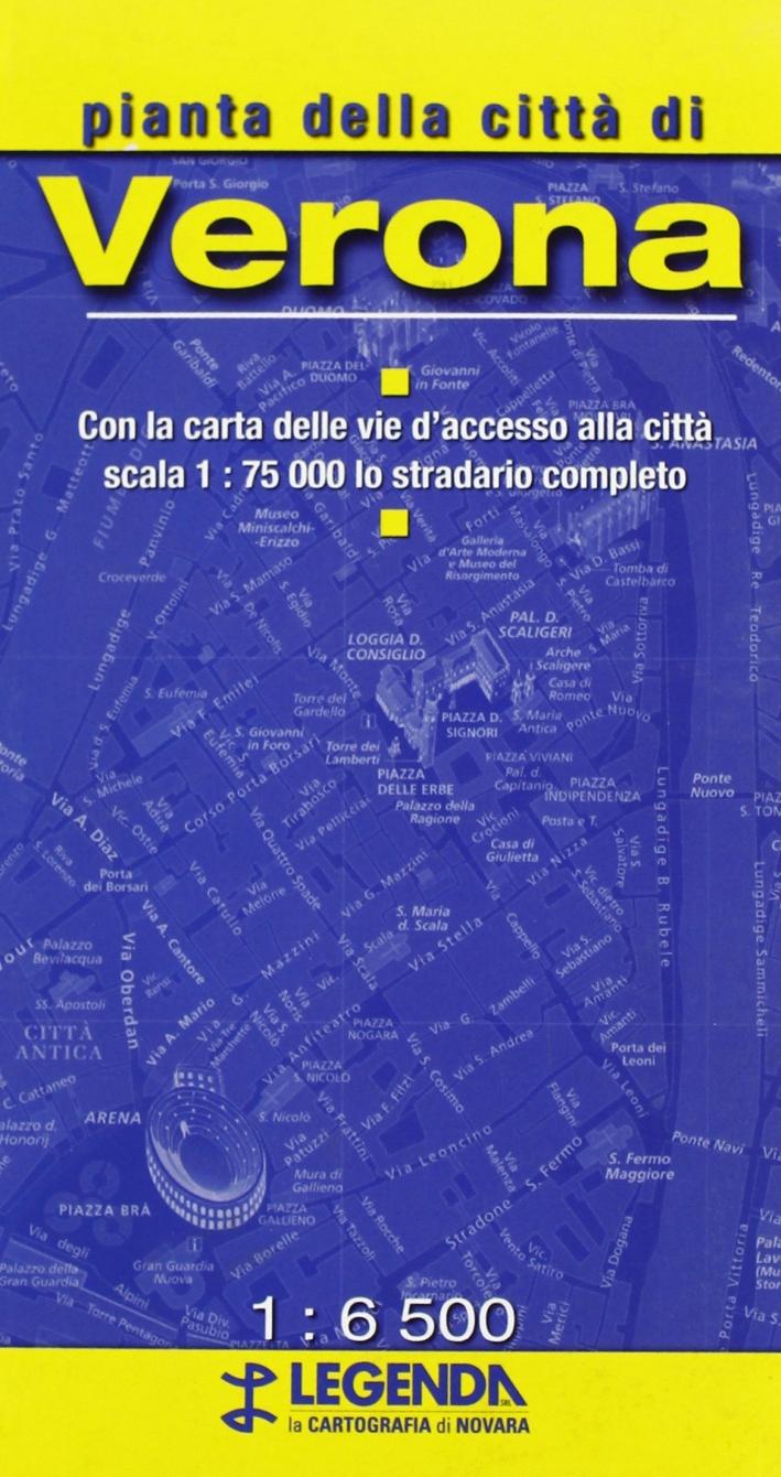 Pianta di Verona