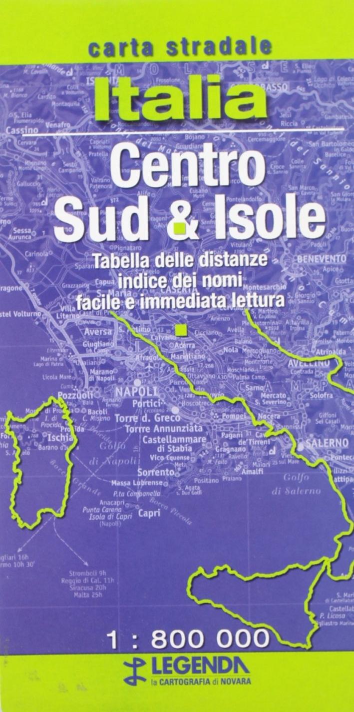 Carta d'Italia. Centro-Sud 1.800.000