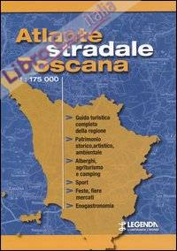 Atlante stradale Toscana 1:175.000