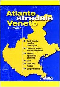 Atlante stradale Veneto 1:175.000
