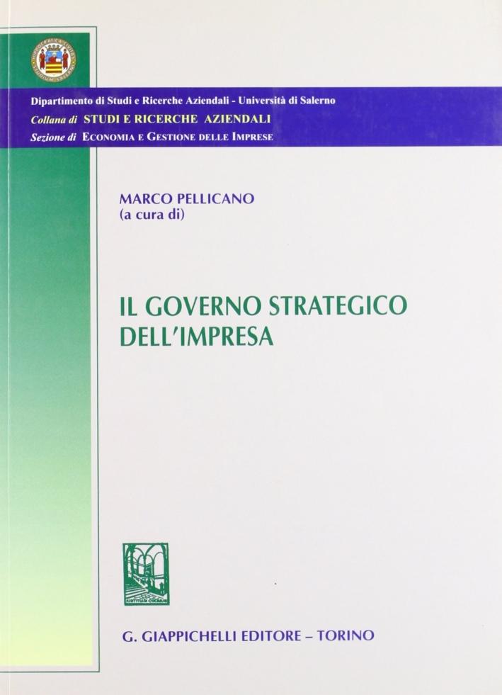 Governo strategico dell'impresa