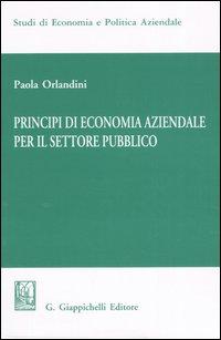 Principi di Economia Aziendale per il Settore Pubblico