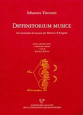 Diffinitorium musicae. Un dizionario di musica per Beatrice D'Aragona