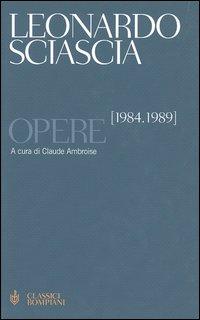 Opere. Vol. 3: 19841989.