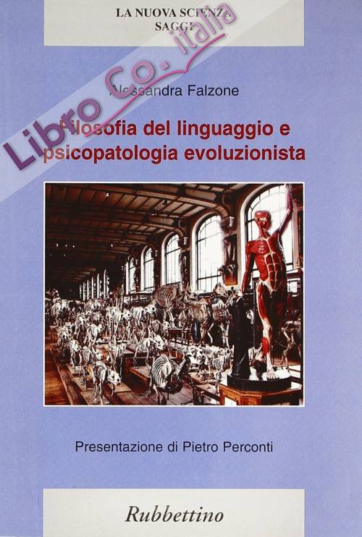 Filosofia del linguaggio e psicopatologia evoluzionista