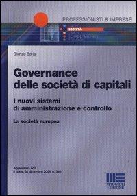 Governance delle società