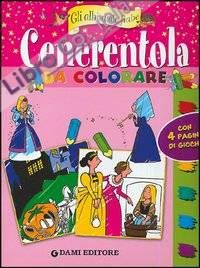 Cenerentola da colorare