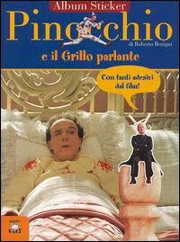 Pinocchio e il grillo parlante. Con immagini del film di Roberto Begnini.