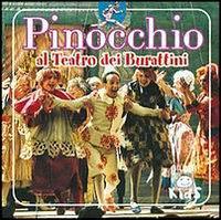 Pinocchio al teatro dei burattini.