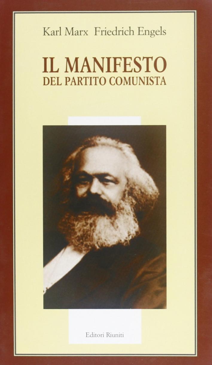 Il manifesto del partito comunista.