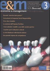 Economia & management. Vol. 3