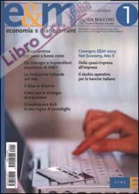 Economia & Management. Vol. 1