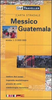 Messico, Guatemala. Carta stradale 1:3.000.000.