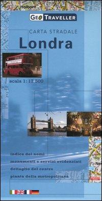 Londra. Carta stradale 1:17.500