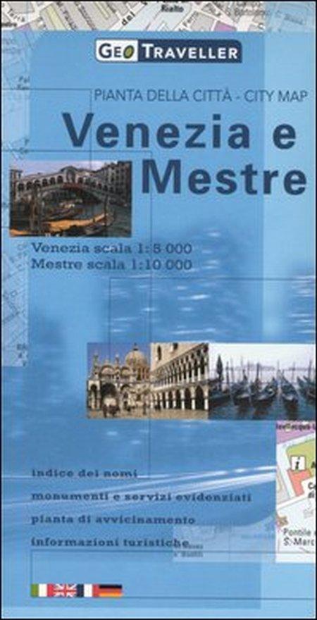 Venezia. Pianta della città 1:5.000-Mestre. Pianta della città 1:10.000