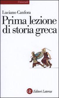 Prima lezione di storia greca.