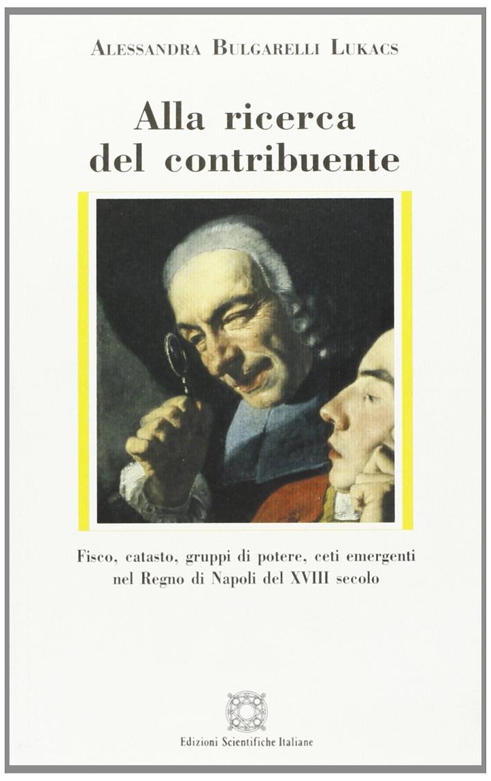 Alla ricerca del contribuente. Fisco, catasto, gruppi di potere, ceti emergenti nel Regno di Napoli del XVIII secolo