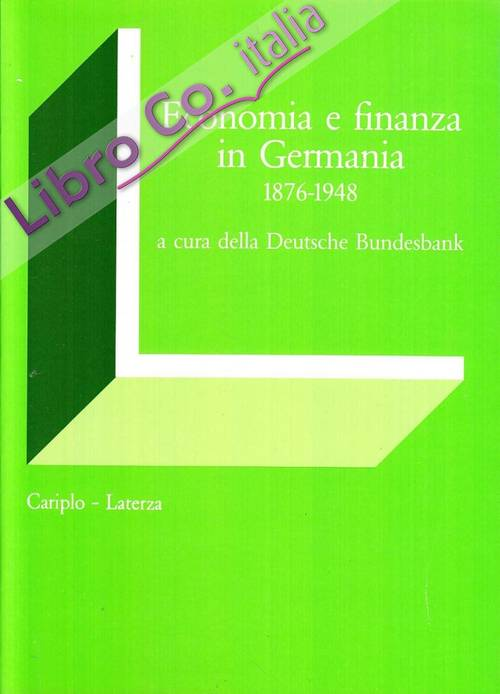 Economia e finanza in Germania (1876-1948)