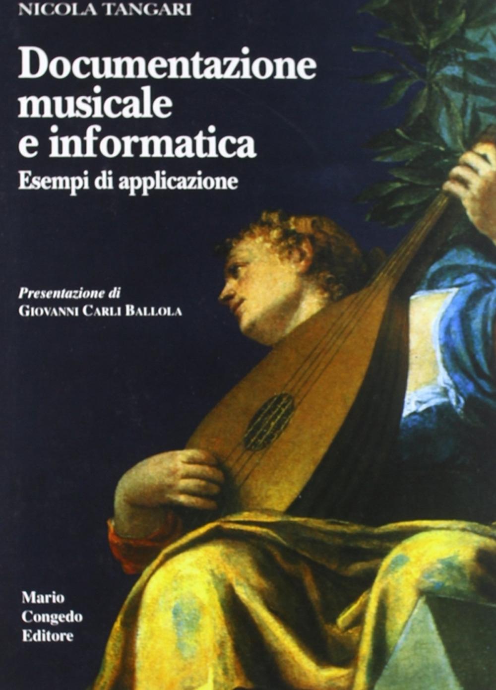 Documentazione musicale e informatica. Esempi di applicazione